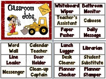 116 Best Images About Mickey Mouse Classroom On Pinterest