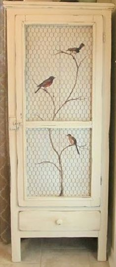 Great idea for a cupboard!