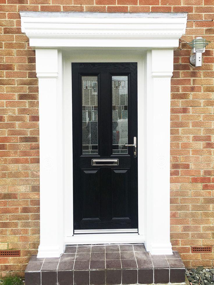 Classical Meets Modern A Black Alt More Composite Door
