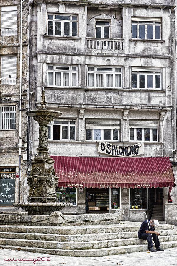 Vigo - Casco vello (old town) #Galicia