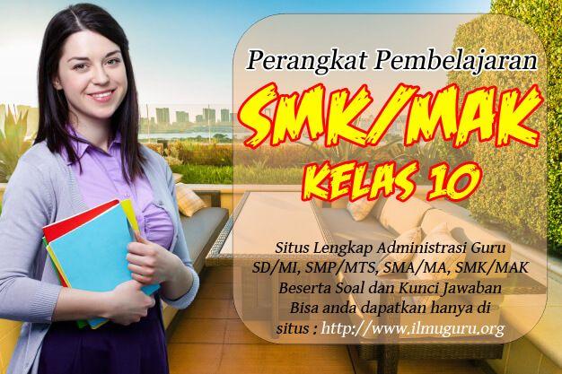 Perangkat Pembelajaran Bahasa Indonesia Smk Kelas X Kurikulum 2013 Revisi Terbaru Playbill