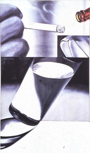 James Rosenquist - White Cigarette. 1961-2.