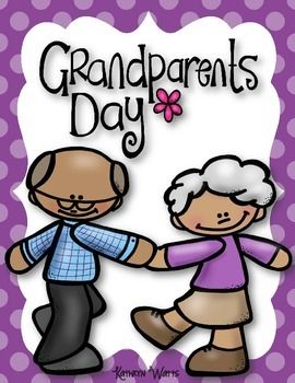 hooray for grandparents day clip art
