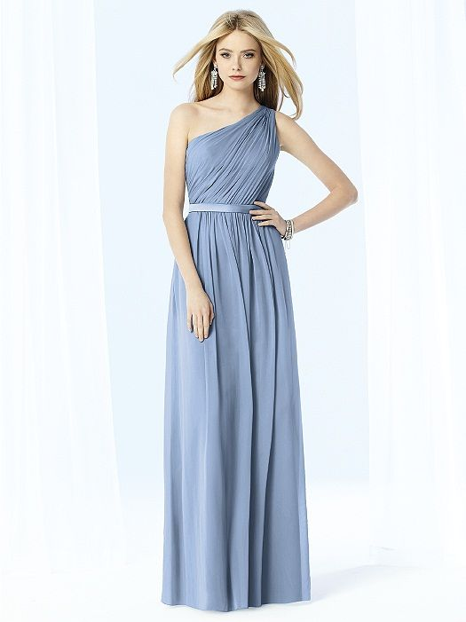 CLOUDY - This is the color I want After Six Bridesmaids Style 6706 http://www.dessy.com/dresses/bridesmaid/6706/#.VOealvnF91A