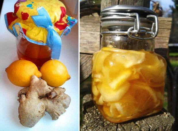 Jak naložit zázvor s medem a citrónem pro posílení imunity, na nemoci a hubnutí…