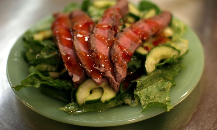 steak lettuce grilled steak salad thai grilled grilled steaks recipes ...