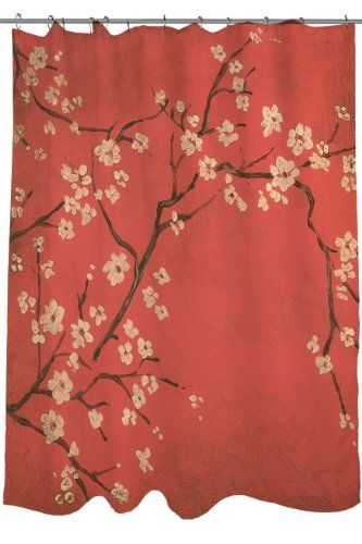 Shower Curtains cherry blossom shower curtains : 17 best ideas about Cherry Blossom Shower Curtain on Pinterest ...