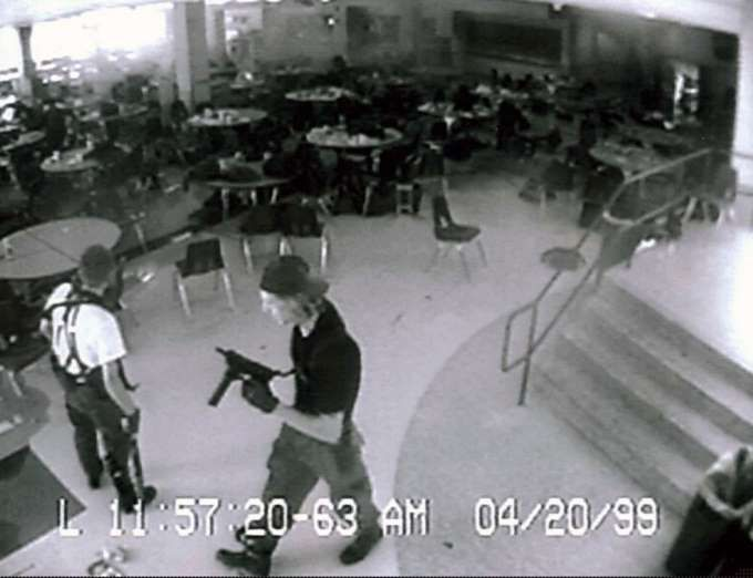 April 20, 1999: COLUMBINE HIGH SCHOOL SHOOTINGS - Columbine High School massacre takes place in Colorado as two students, Eric Harris and Dylan Klebold, shot and killed 12 classmates and one teacher before taking their own lives.