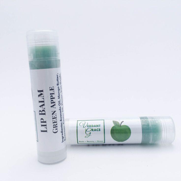Green Apple Lip Balm .15 oz