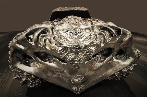 3ders.org - Ioan Florea's 3D printed Liquid Metal Ford Torino up for auction next week   3D Printer News & 3D Printing News