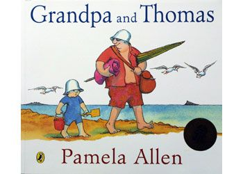 Grandpa And Thomas Book. Thomas and Grandpa go to the beach. It is an Australian summer.