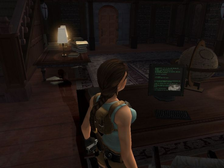 Croft Manor - Tomb Raider 7 version