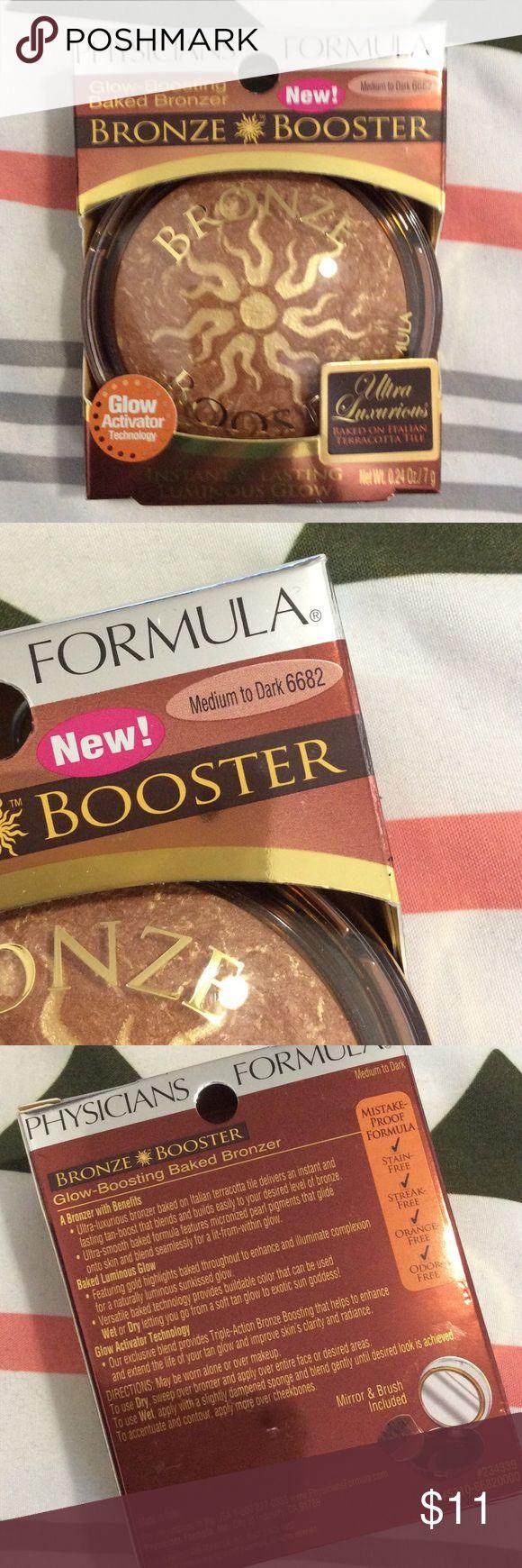Bronze booster Physicians formula bronze booster in medium to dark 6682 with glow activator technology Physicians Formula Makeup Bronzer