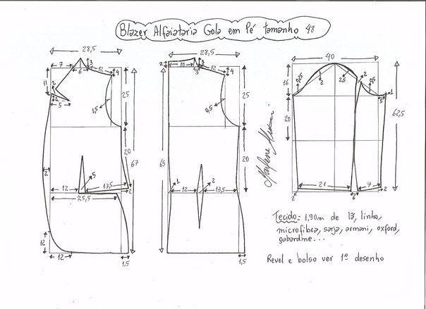 chaquetas patrón para las mujeres (costura y sastrería) | Revista inspiración modista