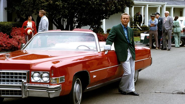 Arnold Palmer at The Masters 1973