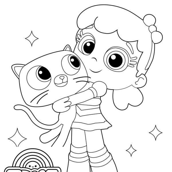 Cat Bartleby From True And The Rainbow Kingdom Coloring Pages Free Printable Coloring Pa Coloring Pages Free Printable Coloring Pages Free Printable Coloring
