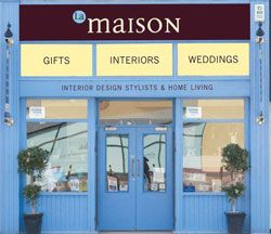La Maison in Letterkenny in County Donegal is an charming country inspired interiors and home decoration shop