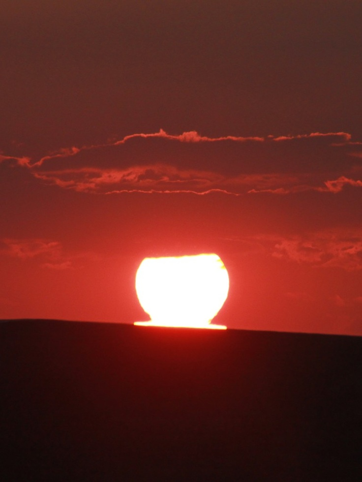 Sun Melting Down, Sunset over a Road - Public Domain Photos, Free Images for Commercial Use