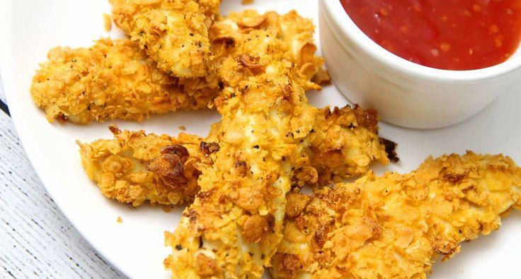 Mézes-mustáros csirkemell kukoricapehely bundában recept | APRÓSÉF.HU - receptek képekkel