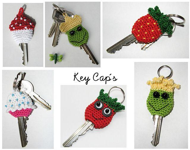 Capinha para chave  Capinhas que enfeitam a sua chave e também protegem a mão durante o manuseio.