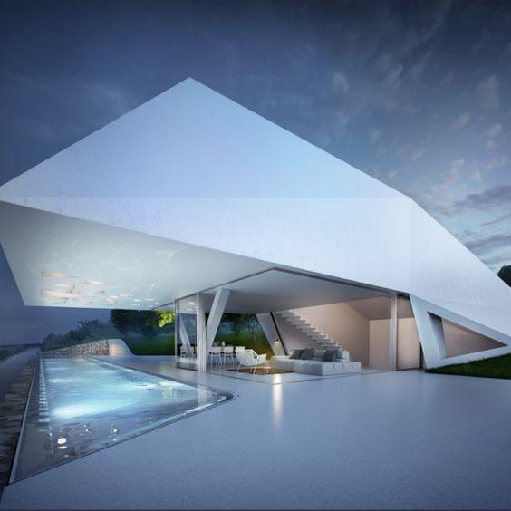 Les 25 meilleures id es de la cat gorie maison futuriste - Maison cloudy bay shack par tonkin zulaikha greer ...