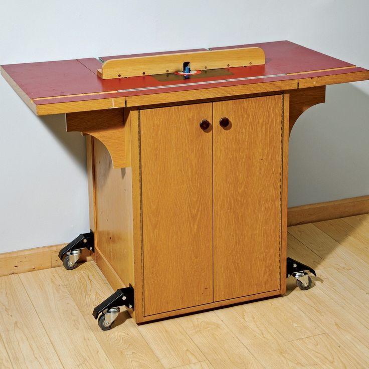 Workbench Locking Caster Kit (4 Pack) - Rockler Woodworking Tools
