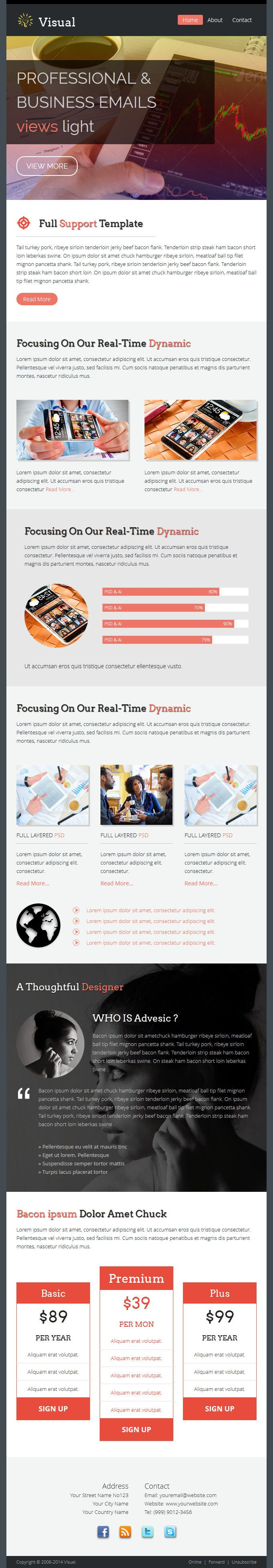 11 best 10 awesome email marketing newsletters that look great on
