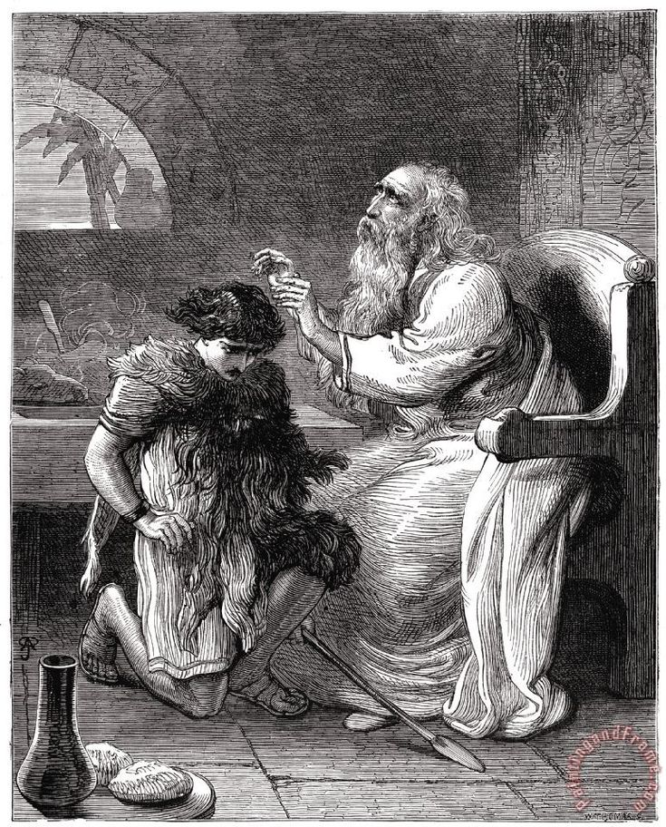 Isaac Blesses Jacob in 2020 (With images) | Large framed ...