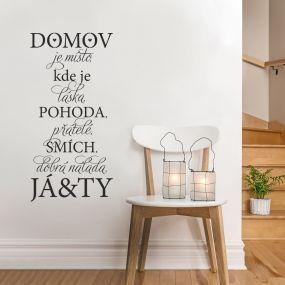 Domov je místo, kde ... :)