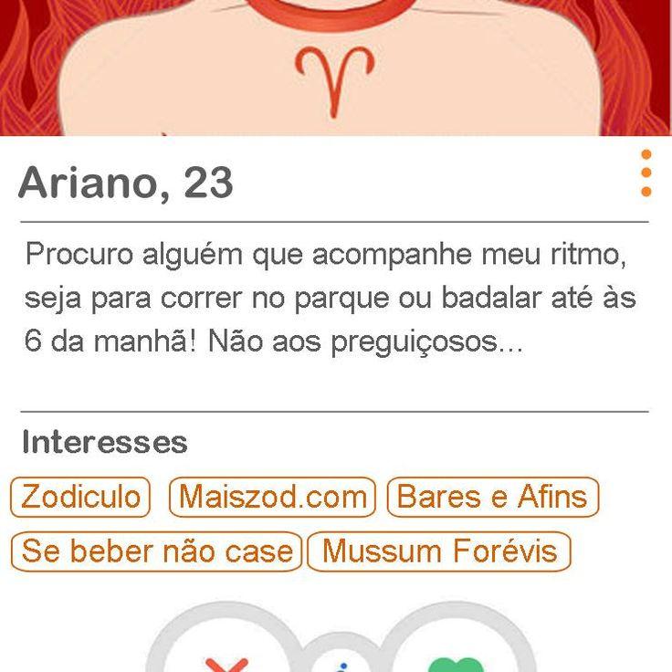 A brincadeira traz descrições e interesses no aplicativo com base nas características dos doze signos do zodíaco.
