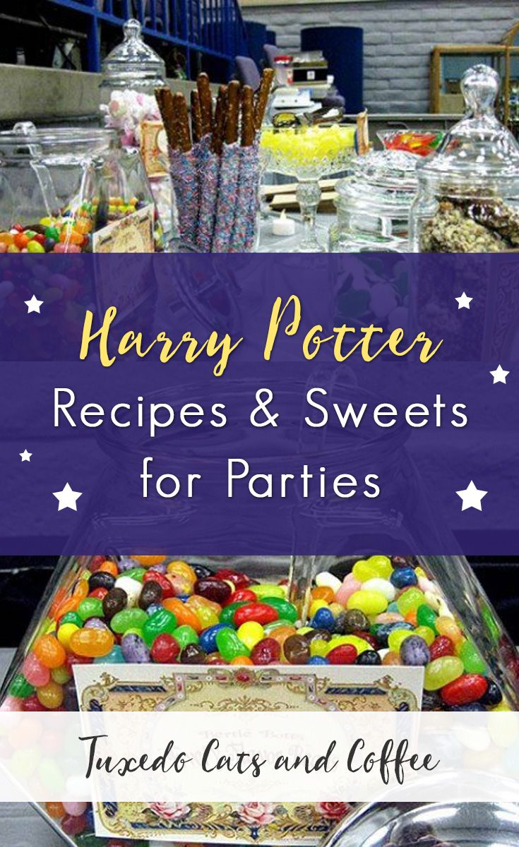 Harry Potter Recipes and Sweets for Parties