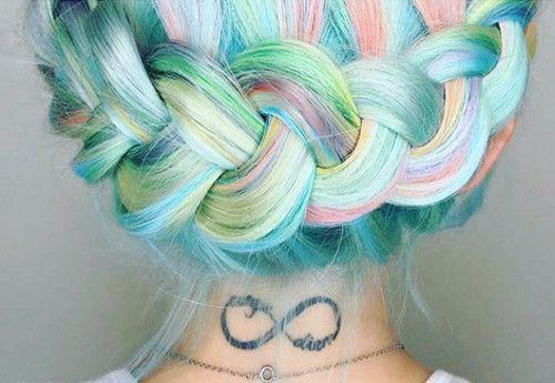 Pastelowe włosy - 10 pomysłów, dużo zdjęć!