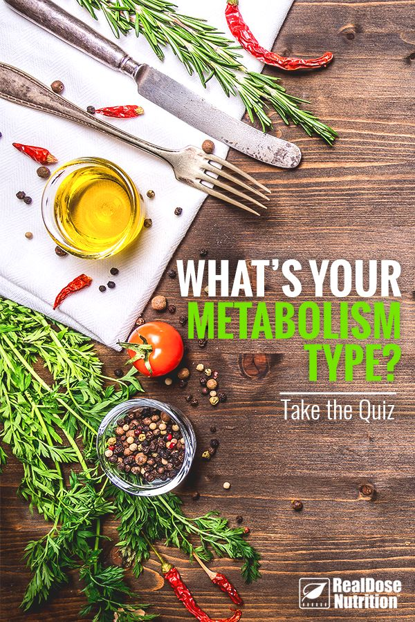 Ever wonder what you're doing wrong when it comes to seeing results? You might not be working in alignment with your Metabolic Type. To find out which of the 4 hormone imbalances might be holding you back, take the Metabolism Type Quiz at RealDose Nutrition.