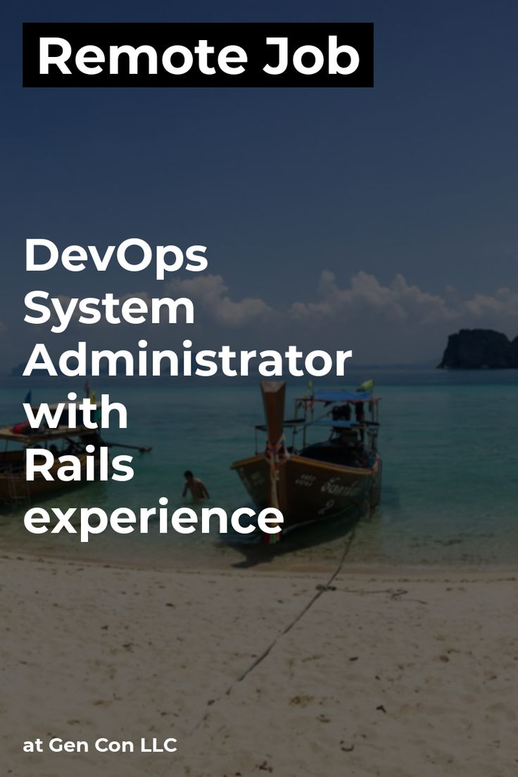 Remote DevOps / System Administrator with Rails experience