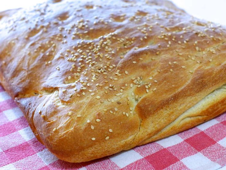 Traditional Lagana recipe (Greek Shrove Monday Bread)