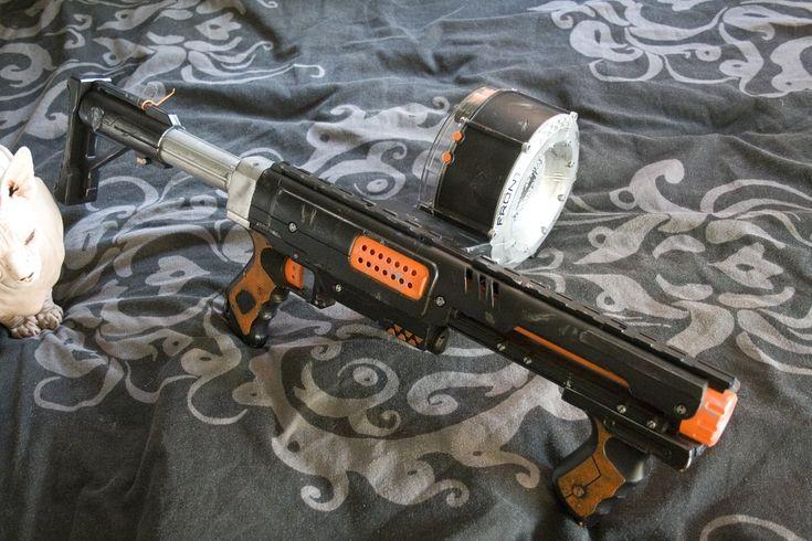 custom painted nerf | This listingis for a custom painted Nerf N-Strike Raider Rapid Fire CS ...