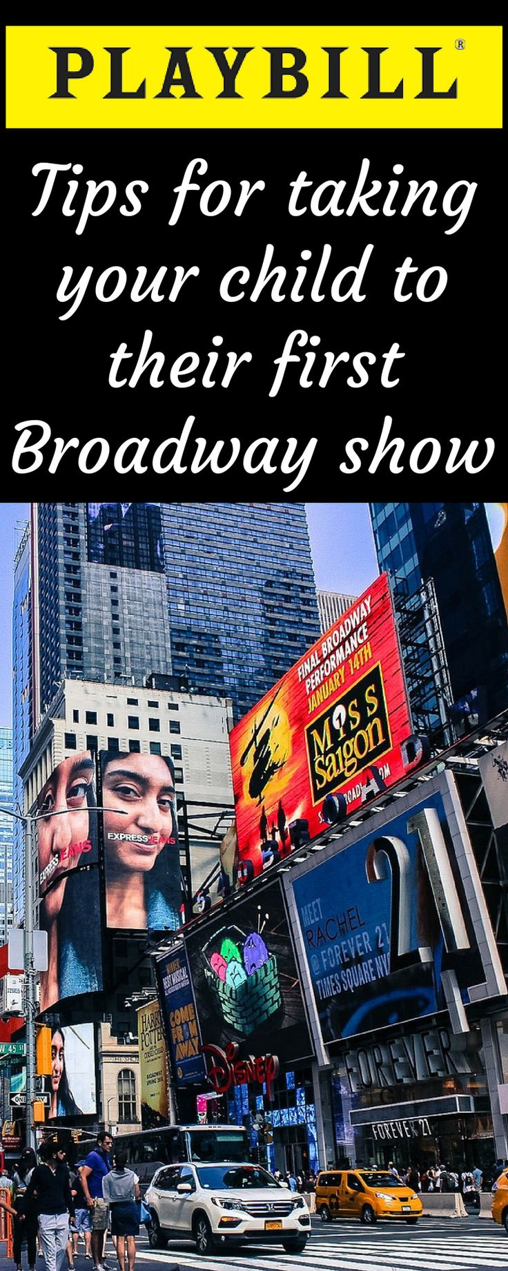 Tips for taking your child to their first Broadway show | Broadway with kids | Theater kids | Broadway | NYC | New York City | NYC with kids | New York City with kids | Travel with kids | Family travel #nyc #newyorkcity #broadway #travelwithkids #familytravel