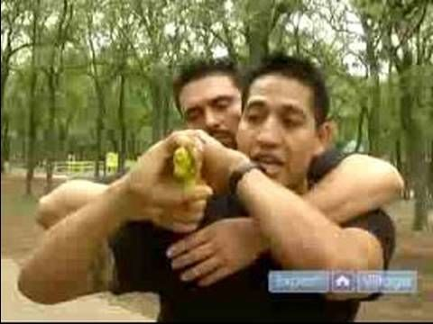 Krav Maga Self Defense Techniques : Hostage Situation Techniques with Krav Maga