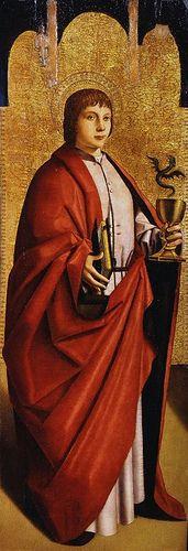 Antonello da Messina, San Giovanni Evangelista