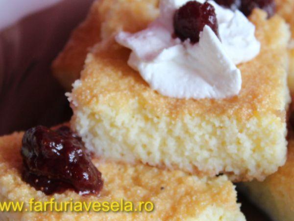 Prajitura cu gris si vanilie (reteta video), Rețetă de Farfuriavesela - Petitchef