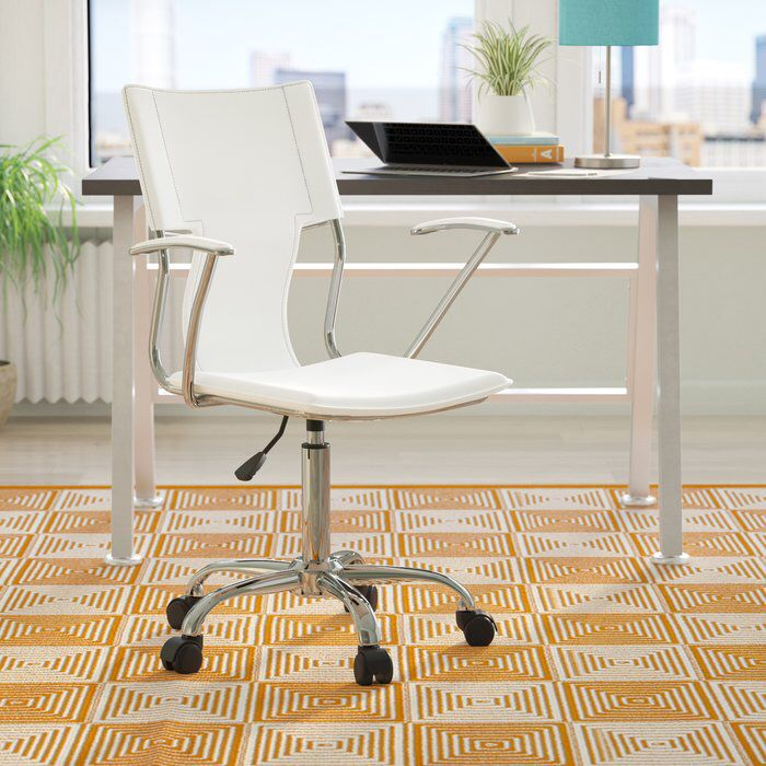 Lindbergh High Back Desk Chair White Office Chair World Market Dining Chairs Chair Upholstery