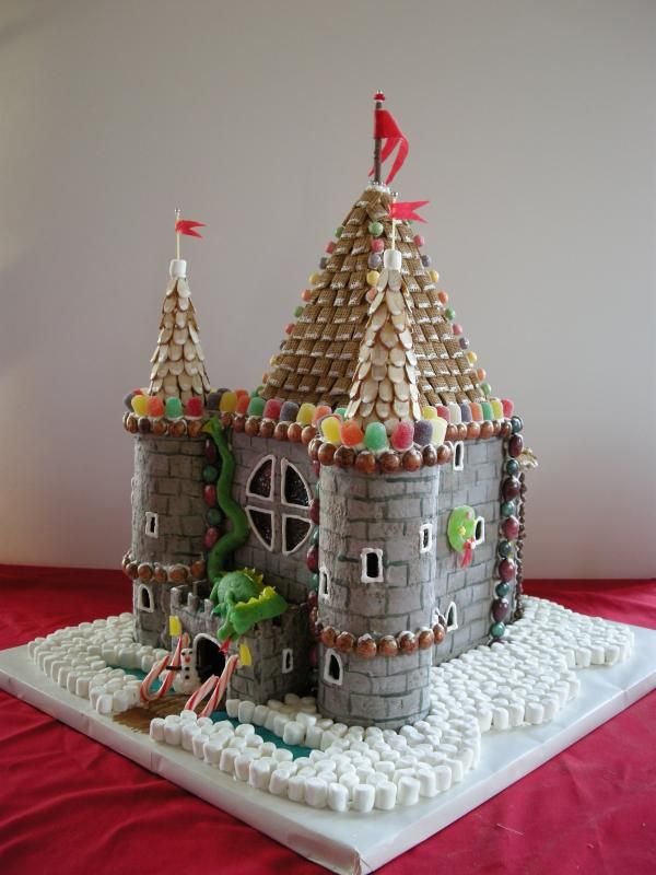 chefs school gingerbread castle - Google Search
