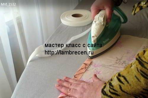 МК_Как сшить пододеяльник своими руками