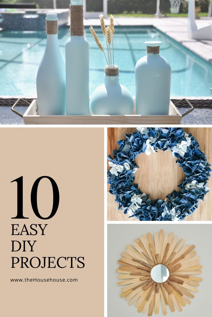 10 Easy Diy Projects In 2020 Easy Diy Diy Projects Easy Diy Projects