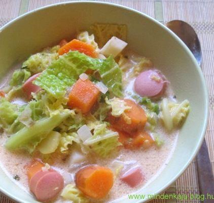 Szilveszter utáni másnapra egy jó kis savanykás melengető méregtelenítő leves .Ezt tényleg nagyon gyorsan el lehet készíteni és nem utolsó sorban a maradék virsli felhasználására is jó megoldás.A klasszikus frankfurti leves receptben ugyan nem szerepelrépa, de…