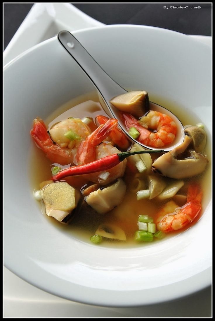 Tom Yam ou soupe de crevette au galanga