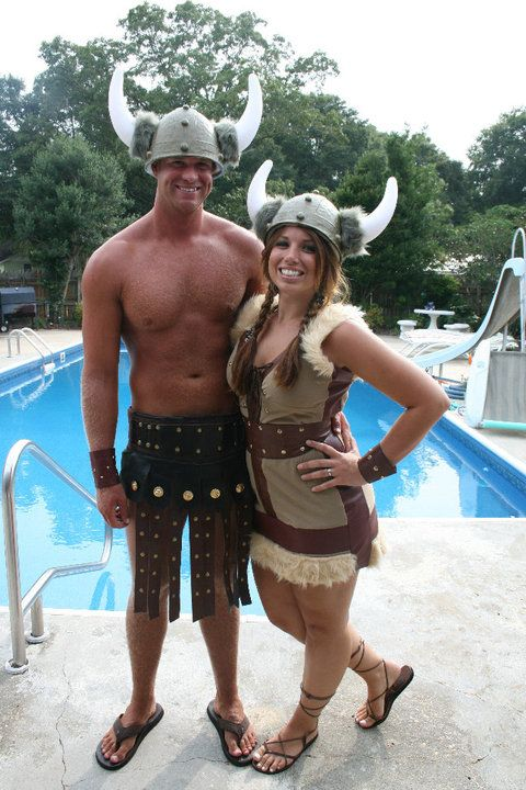 I threw a viking party for my sister Lyndsey's 25th birthday. Here are some of the ideas to throw your own Viking Party.