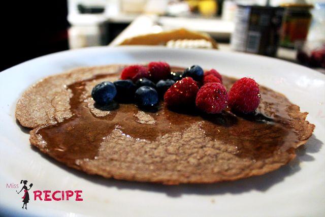 Crêpes bretonnes vegan au cacao - Miss-Recipe.com