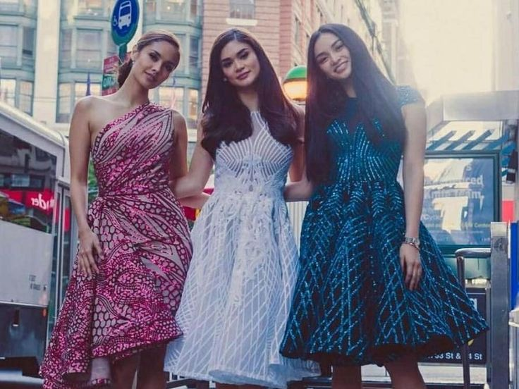 Megan Young, Pia Wurtzbach and Kylie Verzosa
