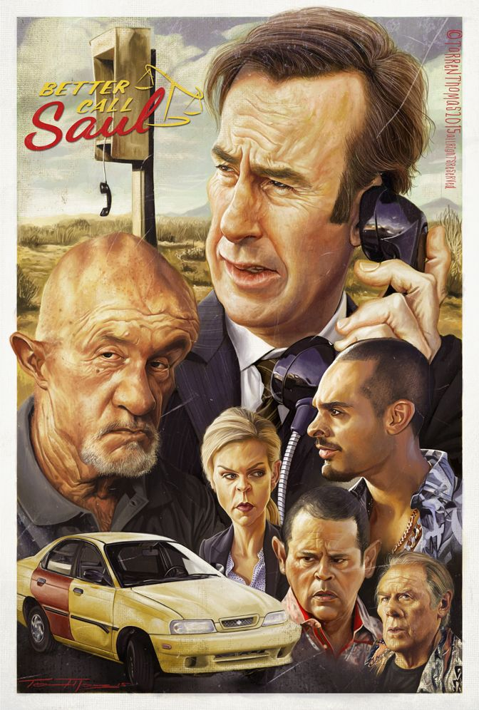 Better Call Saul by Torren Thomas | Caricature | 2D | CGSociety